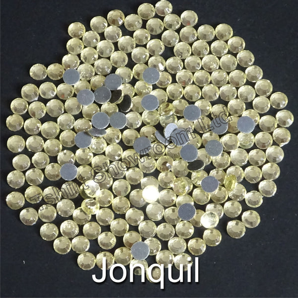 JONQUIL - TSS Bulk Wholesale Hotfix Iron on Rhinestone Flatback Premium Quality