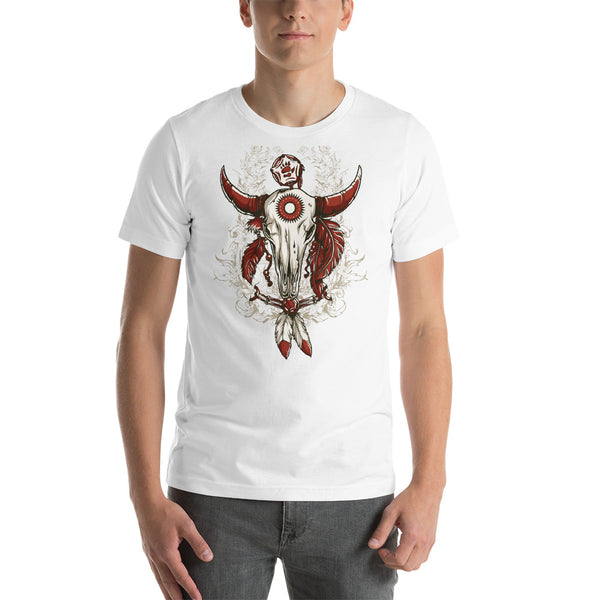 Short-Sleeve T-Shirt for Men, Skull design code: 663