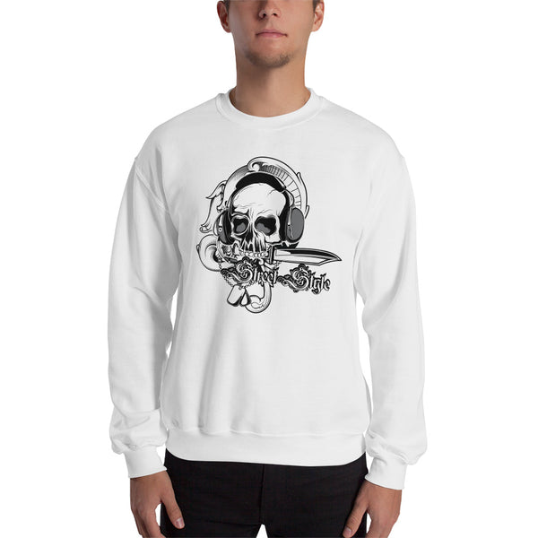 Men's Sweatshirt, Skull design code: 150