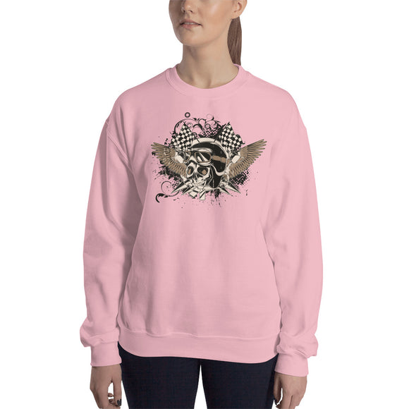 Ladies' Sweatshirt, Skull Design code: 175