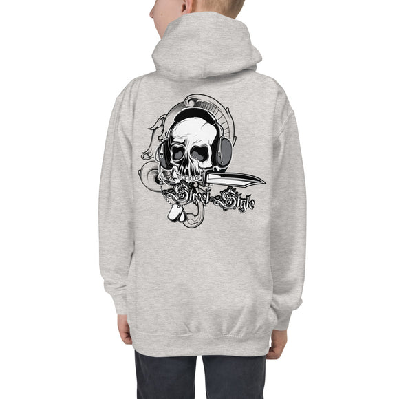 Boy's Hoodie, Skull design at the back code: 150