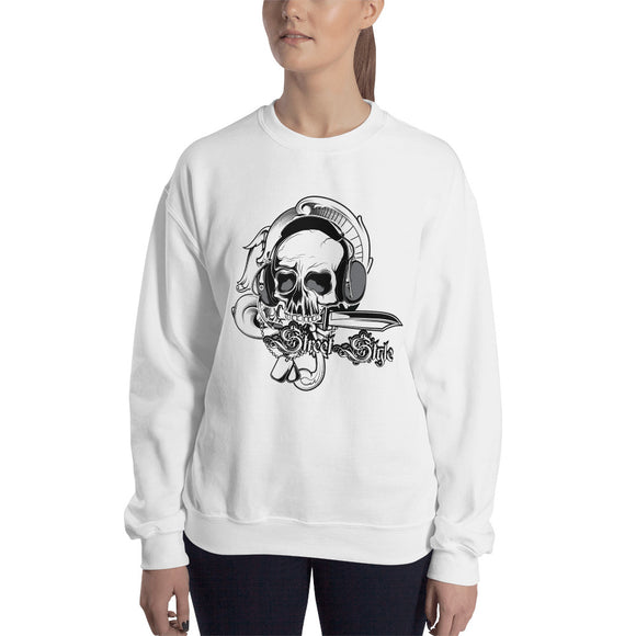 Ladies' Sweatshirt, Skull design Code: 150