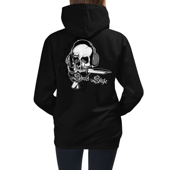 Girls Hoodie, Skull Design at the back code: 150