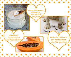 Moisturizing Coconut & Papaya Waterless Bath