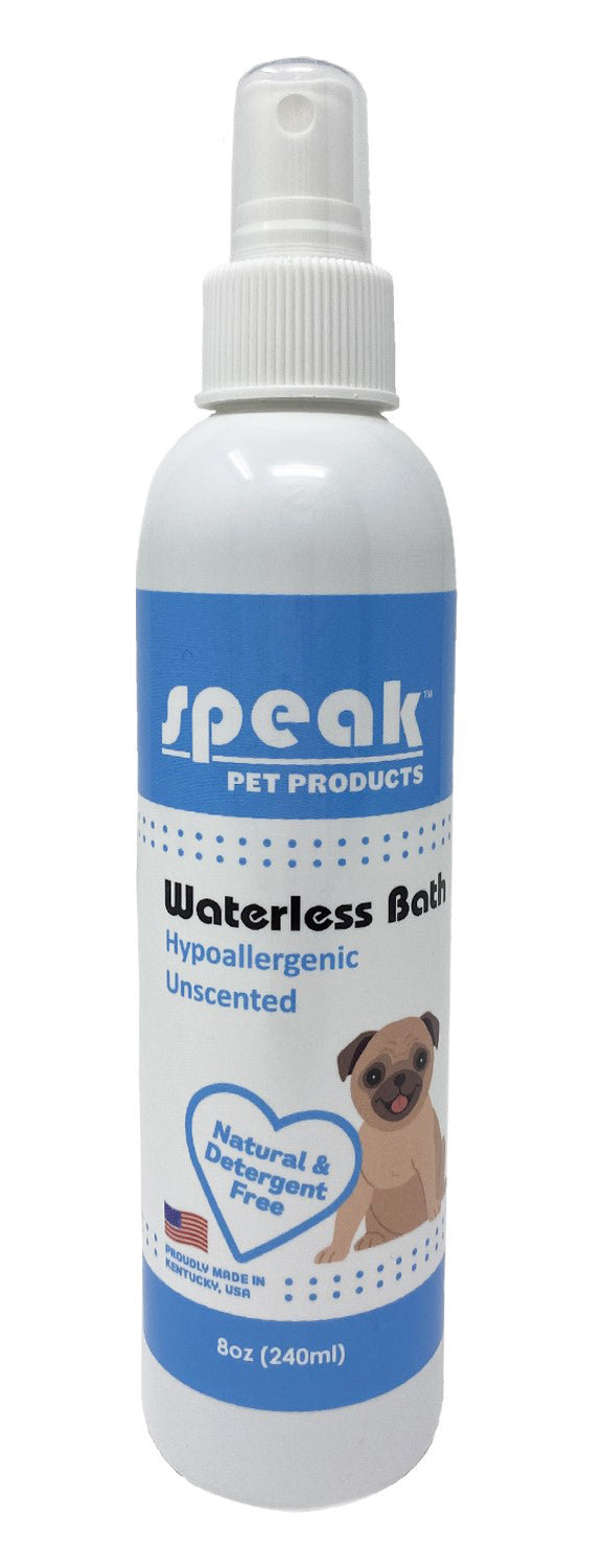 Hypoallergenic Unscented Waterless Bath
