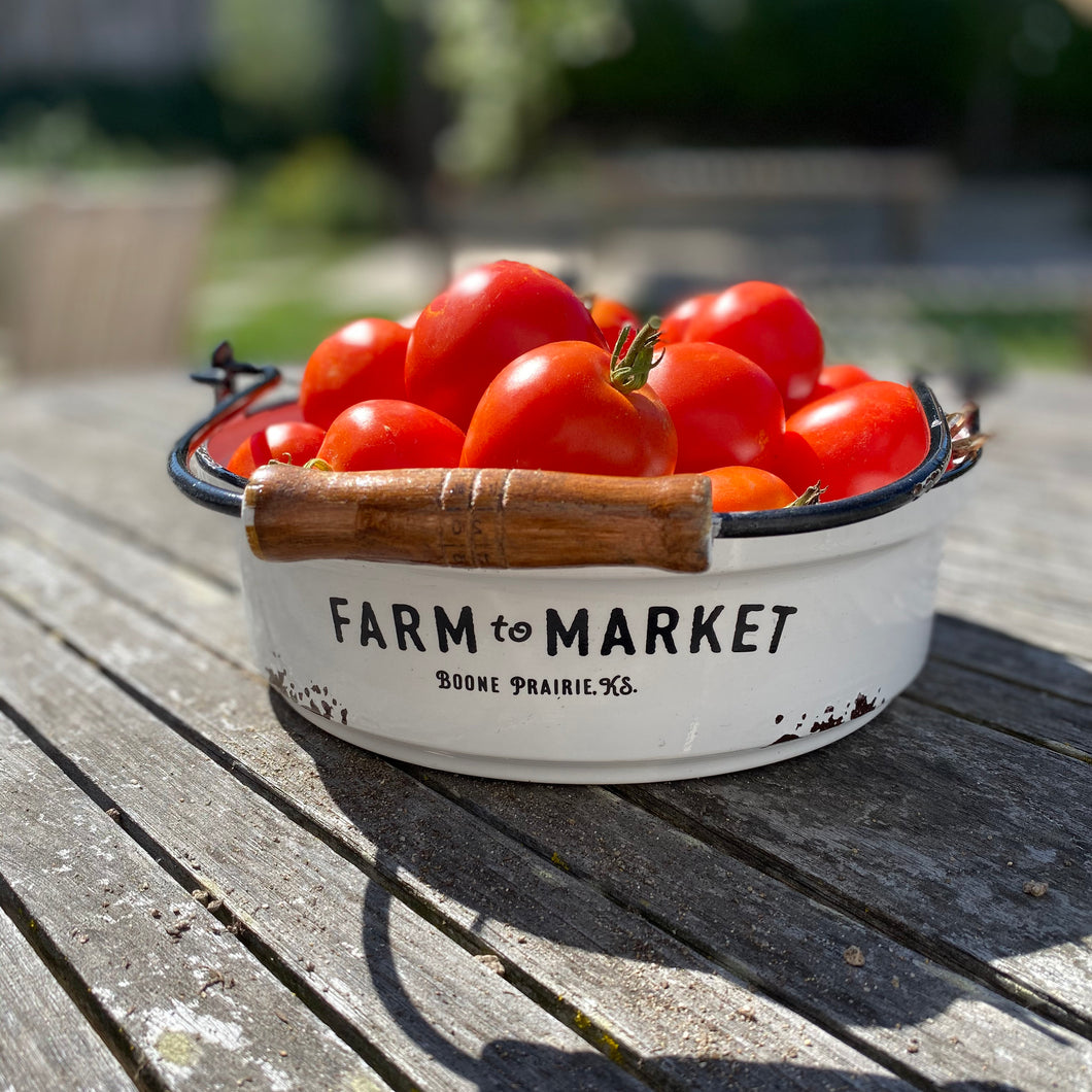 Farm to Market Pail