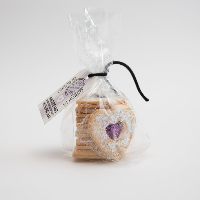Amore Mio Shortbread Cookies with Fig Jam