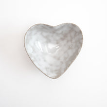 Load image into Gallery viewer, Stoneware Heart Dish