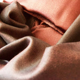 Highroad | Wine Red And Dark Weave – Mulberry Silk Women's Reversible Scarf