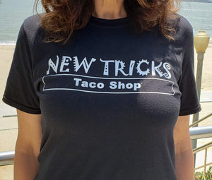 The original New Tricks Taco Shop Tee unisex female