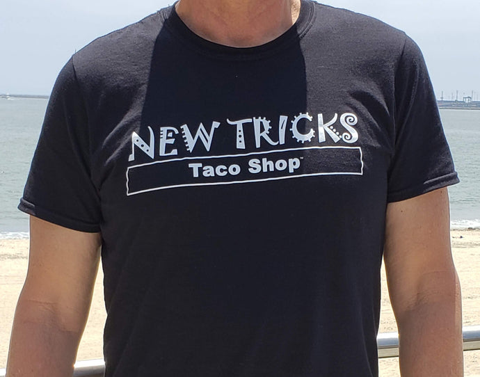 The original New Tricks Taco Shop Tee unisex male