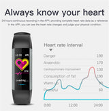 UPDATED VERSION Fitness Tracker Heart Rate Monitor Watch - The Heart Rate Monitor Store