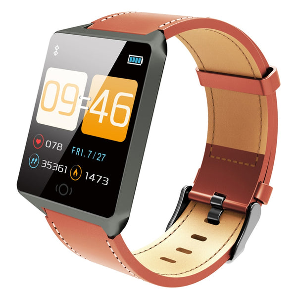 Smart Fitness Tracker with Heart Rate Monitor SmartWatch - The Heart Rate Monitor Store