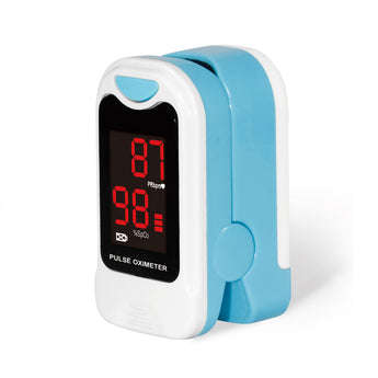 Finger Heart Rate and Blood Oxygen Saturation Monitor - The Heart Rate Monitor Store