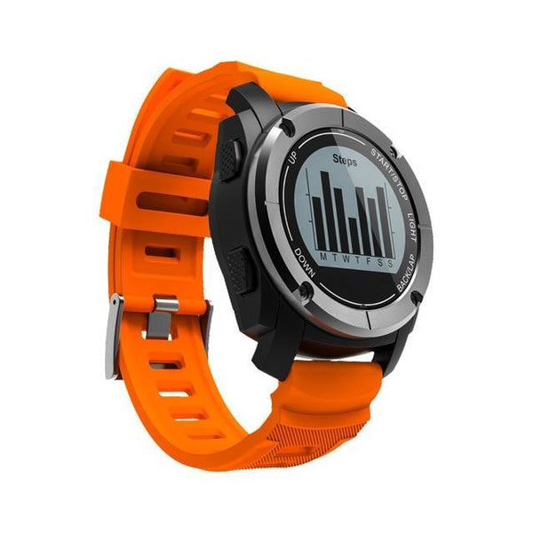 Outdoor Sports Running Heart Rate Monitor with Speed Tracker, Bluetooth, and GPS Smartwatch - The Heart Rate Monitor Store