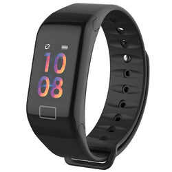 Smart Bracelet for Fitness, Sleep & Blood Pressure Watch with Colored Display - The Heart Rate Monitor Store