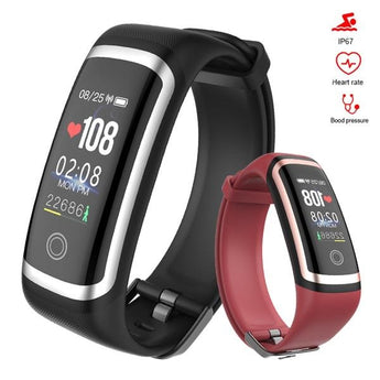Waterproof Heart Rate Monitor & Step Tracker Fitness Smartwatch - The Heart Rate Monitor Store