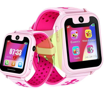 Kids Smart GPS Watch with Camera & Sim Slot (English Version) - The Heart Rate Monitor Store