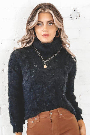 Amanda Cable Knit Sweater