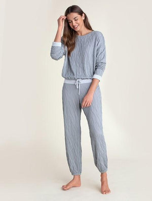 Crinkle Jersey Lounge Set