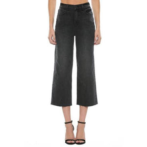 High Rise Cropped Jean
