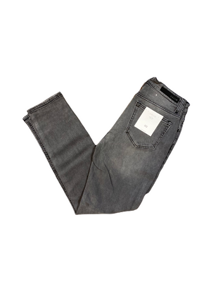 High Rise Slim Straight Jean