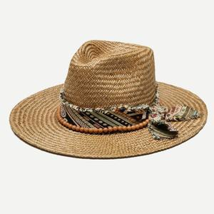 Kassia Brown Straw Hat