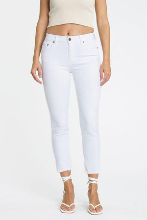 Monroe High Rise Slim Cigarette Jean