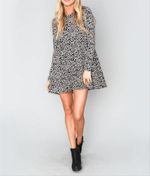 Tatum Mini Dress Cheetah