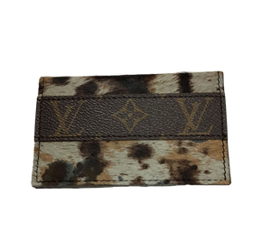 Repurposed LV Bi-Fold Card Holder