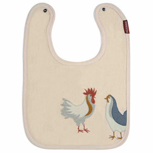 Applique Chicken Bib