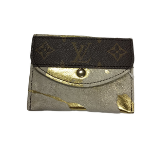 Repurposed LV Itty Bitty Wallet