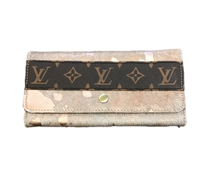 Repurposed LV Snap Wallet