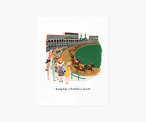 8x10 Kentucky Derby Print