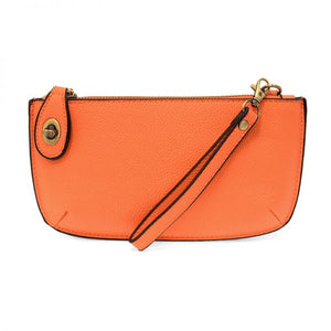 Mini Leather Crossbody Clutch