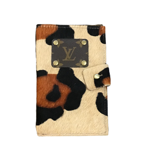 Repurposed LV Passport Holder