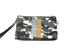Camo Mini Luxe Clutch