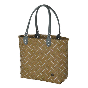 Camel Hand Woven Intense Tote