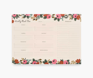 Rifle Paper Weekly Meal Planner
