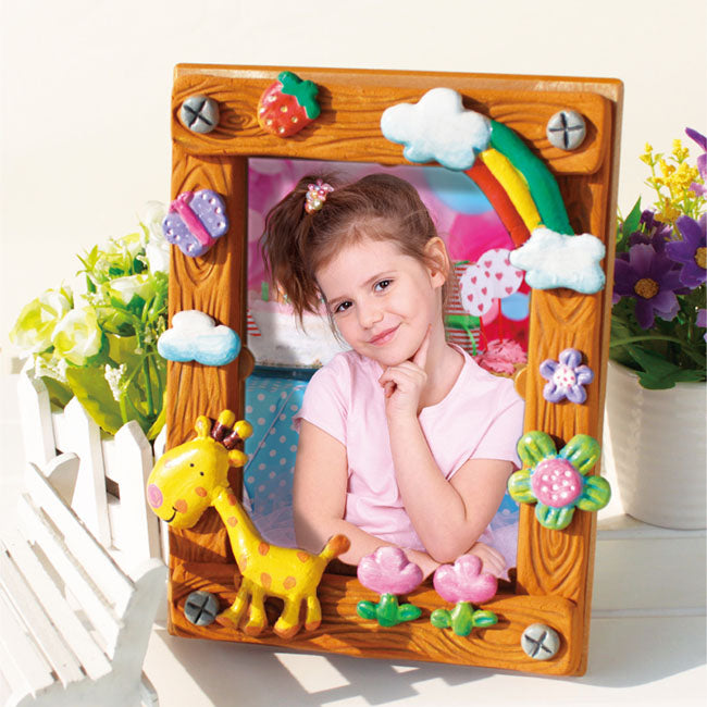 BAMBOO CLAY - WOODERN PHOTO FRAME
