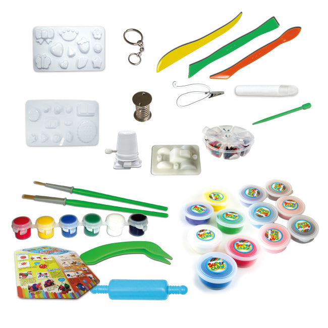 SUPER CLAY - CREATIVE TOOL PLAYSETS