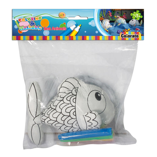 COLORING & WASHABLE (CLOWNFISH)