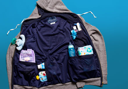 10 ways The Dad Hoodie is better than a diaper bag