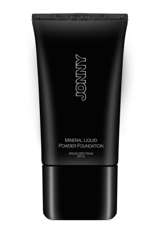 JONNY Cosmetics Mineral Liquid Powder Foundation