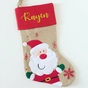 Personalised Hessian Stocking