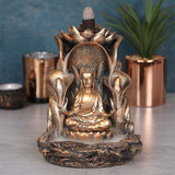 Bronze Buddha Backflow Incense Burner