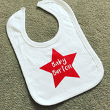 Personalised Star Bib