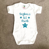 Unisex First Diwali Personalised Baby Vest Babysuit