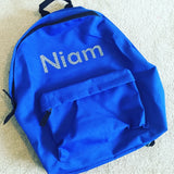 Personalised Backpack - School bag/ nursery bag - More Colours Available