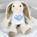 Personalised Message Bunny Rabbit